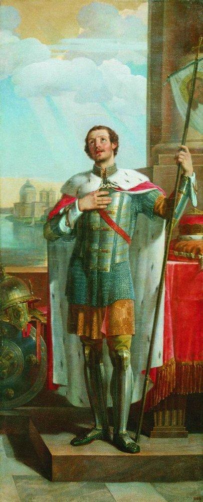 Александр Невский. 1836.