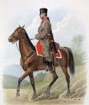 Лейб гвардии Казачий полк (походная форма) 30 сентября 1867 года.