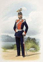 Генерал лейб-гвардии Уланского его величества полка (в городской парадной форме) 20 апреля 1863 года.