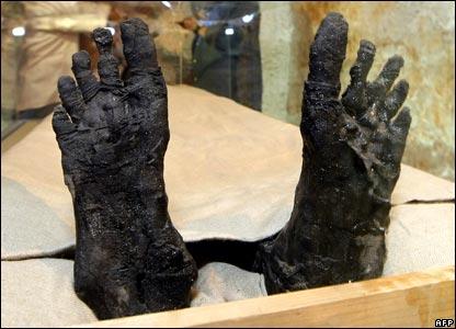 Ноги Фараона...