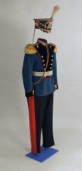 Парадная офицерская форма гвардейского конного артиллериста, 1907-1917 гг.