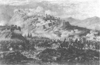 Штурм крепости Байбурт. Июнь 1829 г.