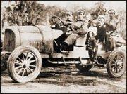 """Качество автомобиля """"Руссо-Балт"""" подтверждалось участием в многочисленных ралли."""