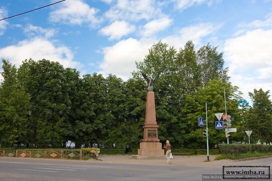 """Памятник """"Доблестным Вильманстрандцам"""". Старая Русса."""