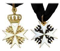 Кресты рыцарей справедливости и милосердия Прусского Королевского Ордена Иоаннитов