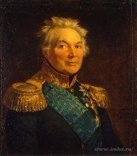 Портрет Фабиана Вильгельмовича фон дер Остен-Сакена (1752-1837), не позднее 1825 г. Доу, Джордж