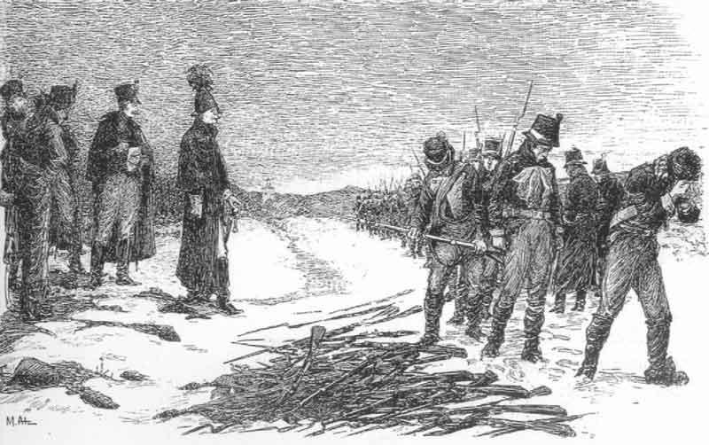 Сдача оружия Генерал-майором Грипенбергом в Каликсе 6 марта 1809 года (25/03/1809)