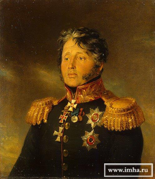 САБАНЕЕВ Иван Васильевич (30.1.1772 † 25.8.1829, Дрезден, Саксония), генерал-от-инфантерии (1823 г.). Доу, Джордж.