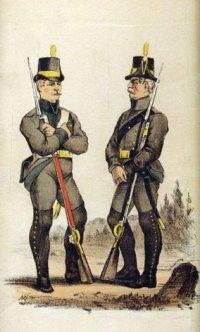 Шведский пехотинец