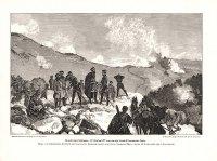 Позиция у Араб-Конак. Осмотр позиции 20ноября 1877 г. генералом Гурко.