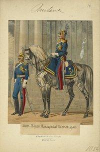 Лейб-Гвардии Жандармский полуэскадрон в 1853-54 гг.