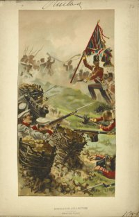 Атака англичан на бастионы Севастополя.