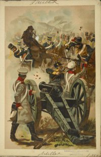Атака французских гусар на батионы Севастополя.
