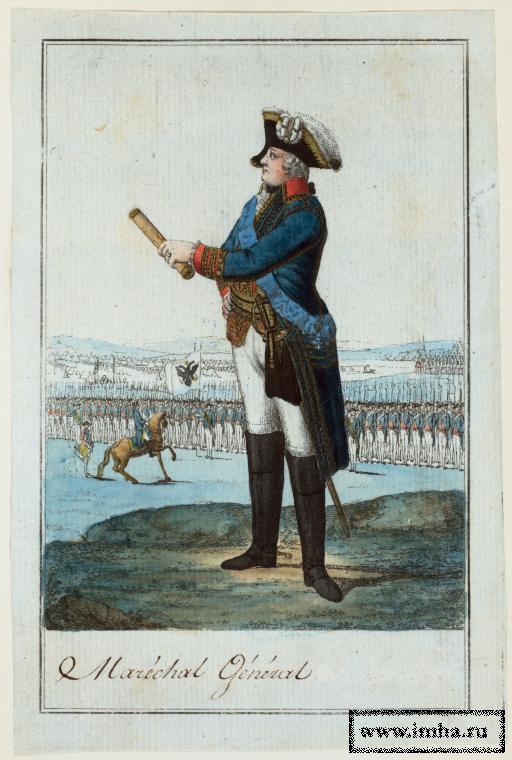 Генерал-фельдмаршал в 1795 г.