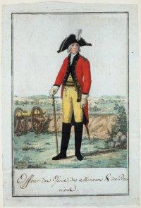 Офицер инженерных, минерных и пионерных частей. 1795 г.