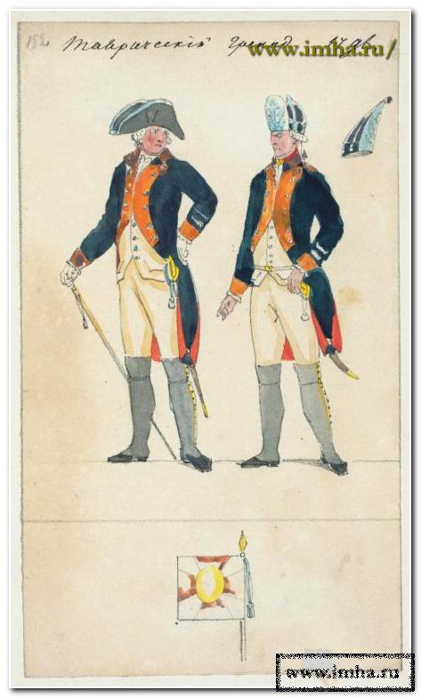 Таврический гренадер в 1796 г.