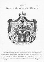 Герб рода князей Барклай де Толли