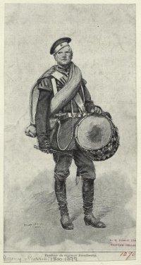 Барабанщик Лейб-Гвардии Измайловского полка в 1884 г.