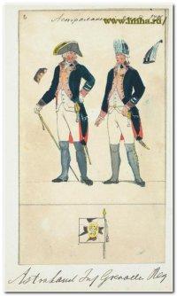 Астраханский гренадер в 1796 г.