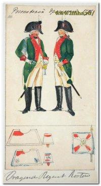Ростовский драгун в 1796 г.