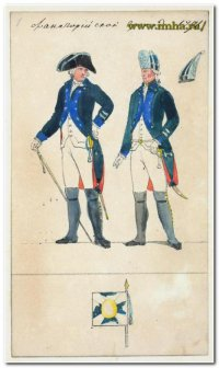 Фанагорийский гренадер в 1796 г.