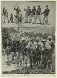 Мадагаскарская армия в 1895 г.