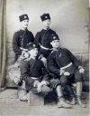 Болгарские унтер-офицеры в повседневной форме.