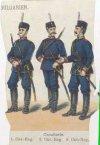 Кавалеристы 1-го, 2-го, 3-го кавалерийских полков. 1896 г.
