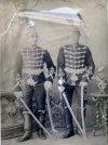 Гвардейские офицеры-гусары. Фото около 1908 г.