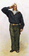 Болгарский моряк. 1896 г.