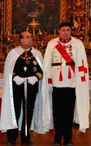 Великий Магистр современного Ордена Храма дом Фернандо ди Соуса Фонтес (Фонтиш)