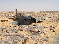 В Сахаре нашли британский истребитель Kittyhawk P-40