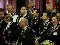 Великий Мастер Великой Ложи России, Андрей Богданов, на ассамблее Великой Ложи Нью-Йорка. (Май 2012 года)