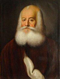 Портрет 1759 г. Алексея Петровича Бестужева-Рюмина (1693-1766). ГМИИРТ. Титов. Холст, масло.