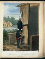 Гренадер Мушкетерского Лейтнера полка в 1798-1801 гг.