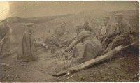 Первая Мировая. Самарцы перед боем. Фото из архива И. Михайлова.