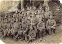 Офицеры 147 Самарского пехотного полка. Фото из архива И. Михайлова.