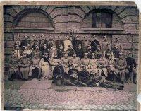 Фотография чинов Лейб-Гвардии Кирасирского (?) полка.