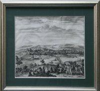 Вид на основанный в 1588 г. в устье Терека, более 100 лет бывшей фактической столицей терских казаков.