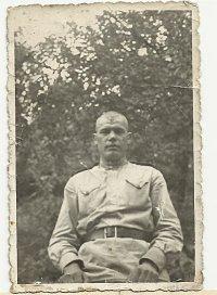 Боец Красной Армии, участник Сталинградской битвы Андрей Иванович Елисеев
