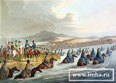 Переправа Великой армии через неман в 1812 г. Кларк.