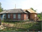 Нечаев Ф. Ф. и Новиков В. Н во время строительства храма.
