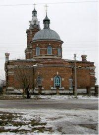 Внешний вид церкви с. Ерахтур