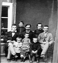 Семья купца Н. В. Кленова.