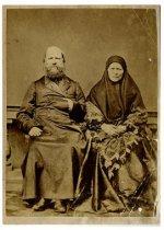 А. В. Качков с женой.