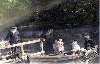 А. В. Качков на отдыхе с семьей сына Василия.