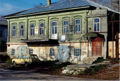 Дом Качковых на ул. Набережной в Касимове.
