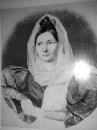 Уварова Екатерина Сергеевна урожденная Лунина. Фотография с утраченного портрета неизвестного художника 1830-е г.t