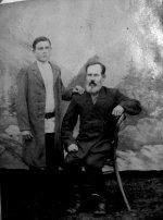 Иван Федорович (сидит) и Василий Иванович Мысевы.