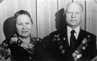 Василий Васильевич Мысев с женой Александрой Яковлевной.